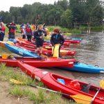 Fundacja młodzi ludziom Spływ kajakowy pilicą 9