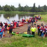 Fundacja młodzi ludziom Spływ kajakowy pilicą 11