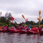 Fundacja młodzi ludziom Spływ kajakowy pilicą 8